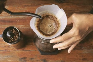 filter coffee hand brew